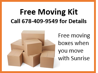 FREE Moving Boxes for your Move Sunrise Moving and Storage