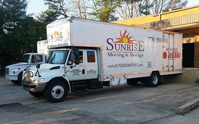 Sunrise Moving & Storage Truck