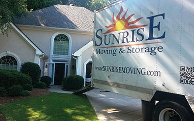 Sunrise Moving & Storage Moving Truck